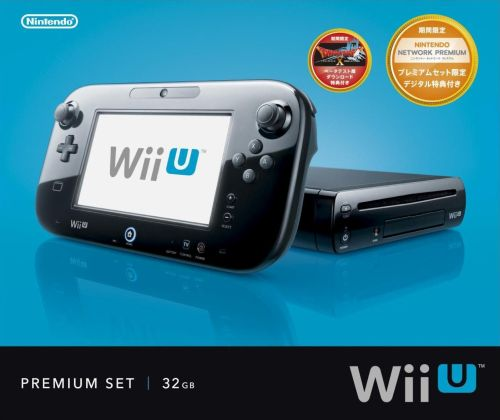 こちらが「Wii U(プレミアムセット)」です。 Wii Uの上位モデ... [Wii Uプレミ